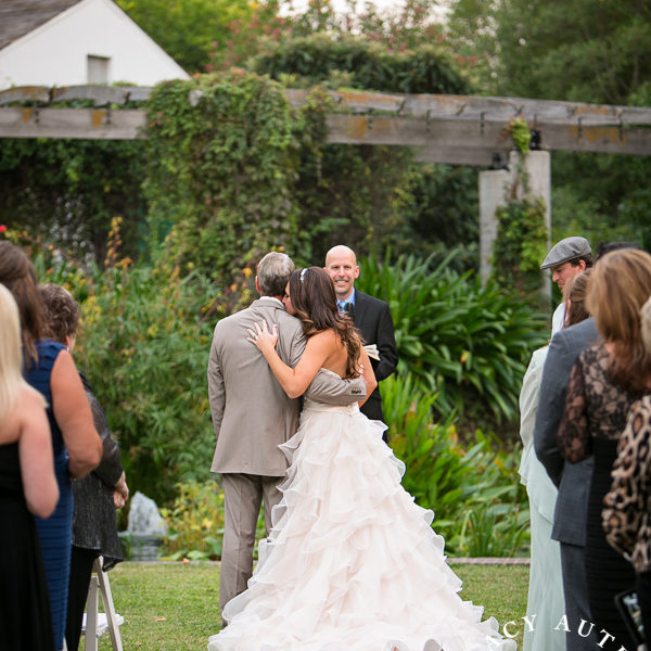 Kristy & Jared - Texas Discovery Garden Wedding Ceremony