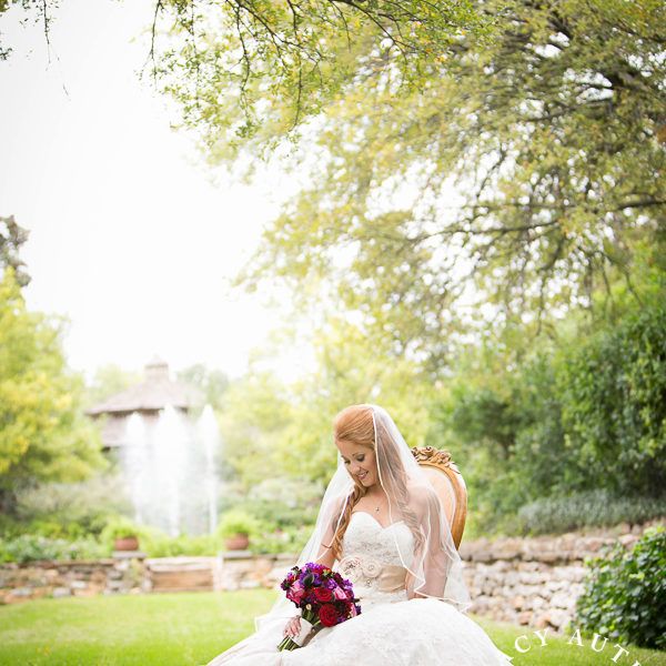 Bailey - Bridal Portraits at Chandor Gardens