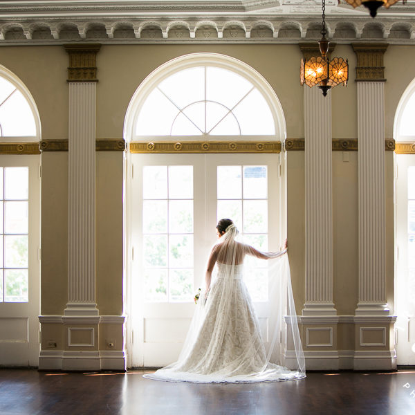 Krista - Bridal Portraits at the Historic YWCA in Fort Worth & Trinity Park