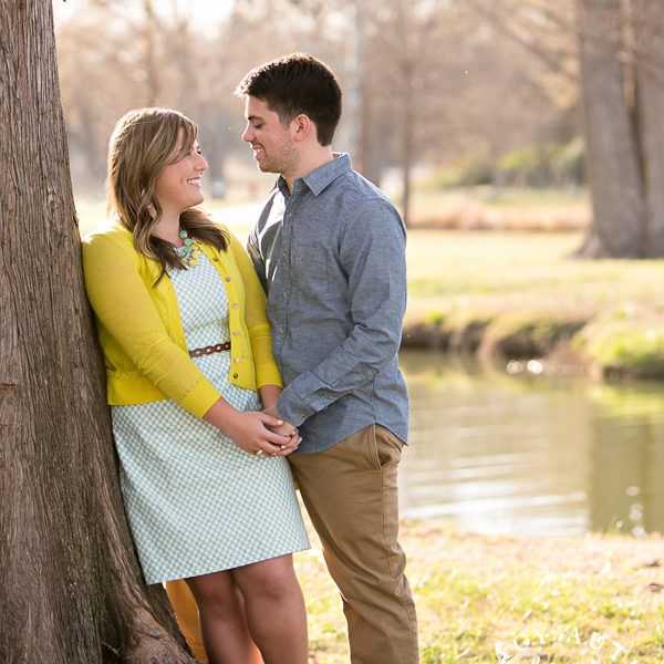 Tracey & Luis - Engagement Photos at White Rock Lake, Dallas