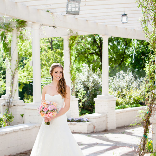Alex - Bridal Portraits at Chandor Gardens