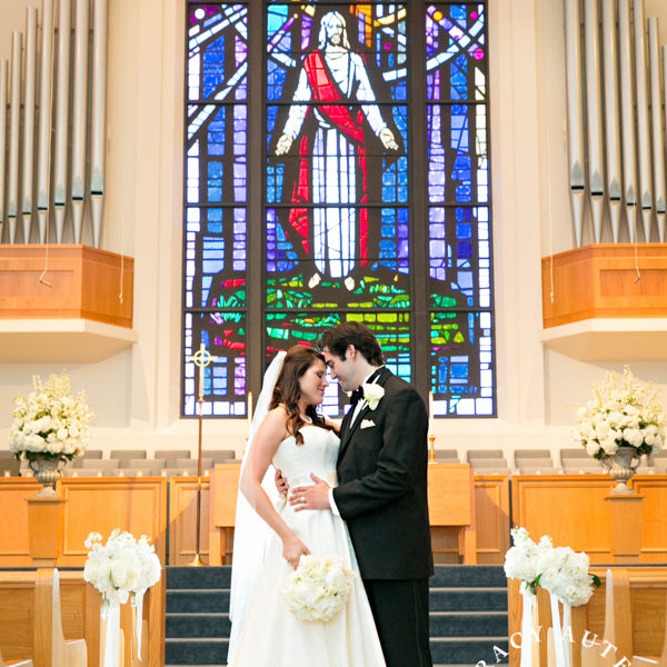 Lindsey & Christian - Wedding at FUMC Hurst & Bridals at Thistle Hill
