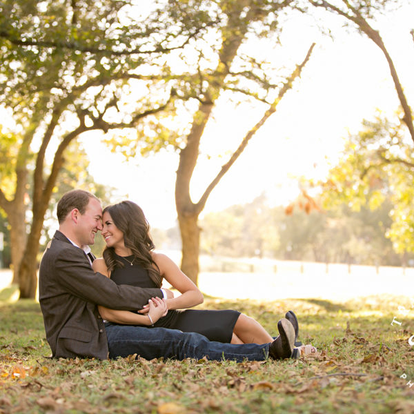 Casey & William - Engagement Portraits at White Rock Lake in Dallas