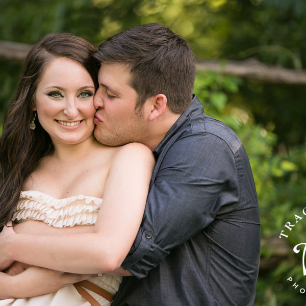 Caelan & Jake - Engagement Session at the Stockyards and Fort Worth Park