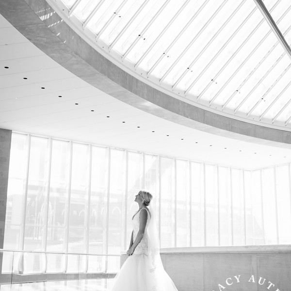 Allie - Bridal Portraits at Meyerson Symphony Center