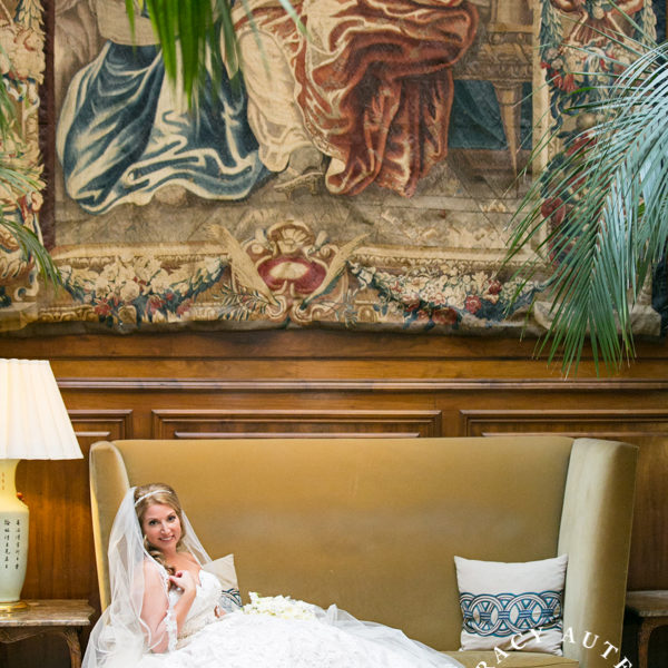 Abbey - Bridal Portraits at Adolphus Hotel