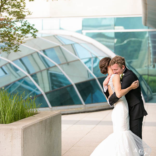 Katie & Jason - First Look at The Omni Hotel