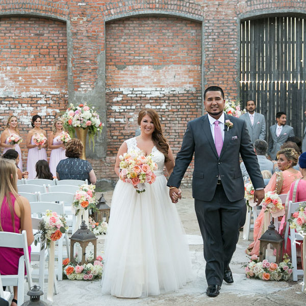 Britny & Aman - Wedding Ceremony at Mckinney Cotton Mill