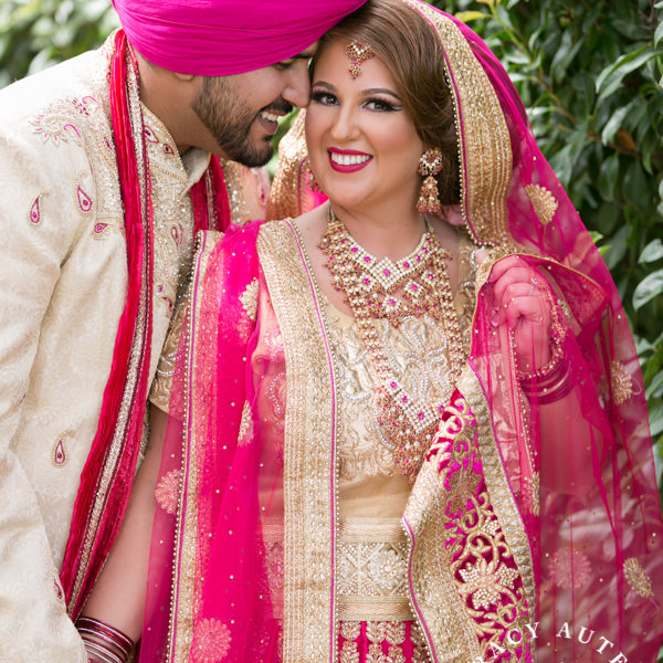 Britny & Aman - Indian Wedding Ceremony at Sikh Temple