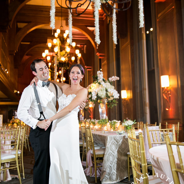 Caitlin & Jordan - Wedding Reception at the Dallas Petroleum Club