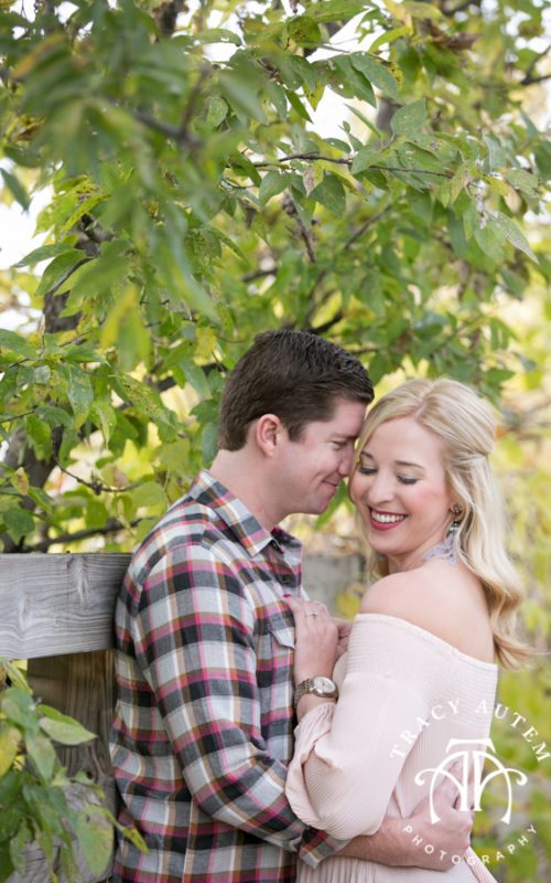 Abbey & Andrew - Engagement Session at the Stockyards