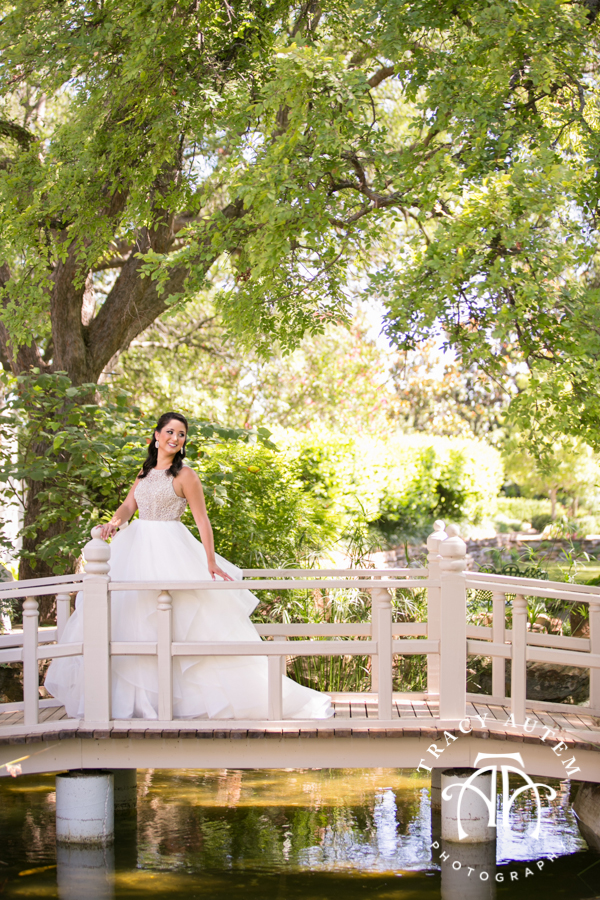 Megan Bridal Portraits At Chandor Gardens Tracy Autem Photography