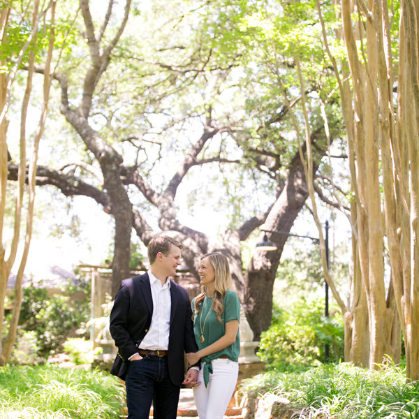 Kristin & Michael - Engagement Photography at Chandor Gardens