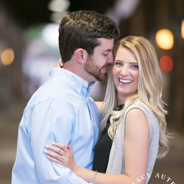 Katherine & Mason - Engagement Photos at Trinity Park & Stockyards