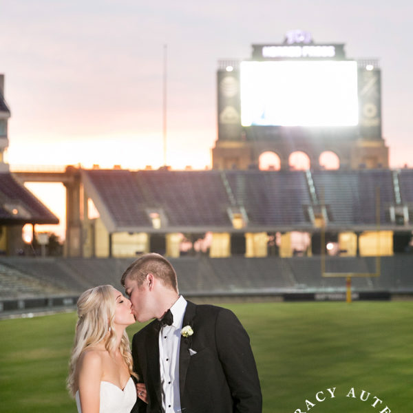 Kyndall & Cole - Wedding Portraits at Texas Christian University