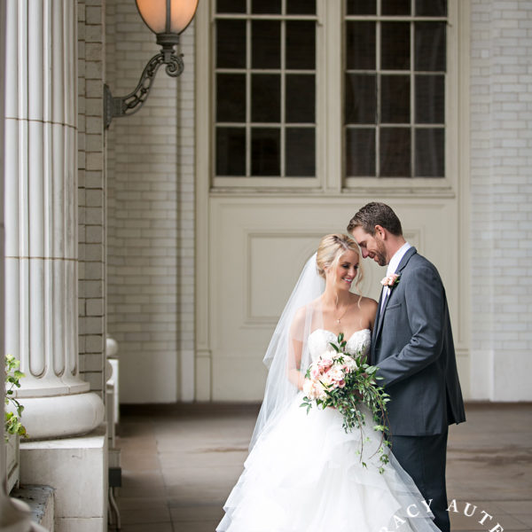 Amy & Bryce - Wedding Portraits at Holy Trinity Catholic & Union Station