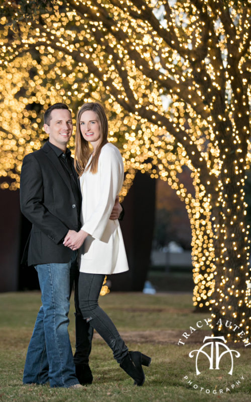 Christy & Mark - Fort Worth Engagement Session at Trinity Park & The Modern