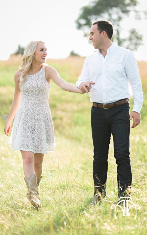 Brittany & Tommy - Engagement Photos at Willowood Ranch