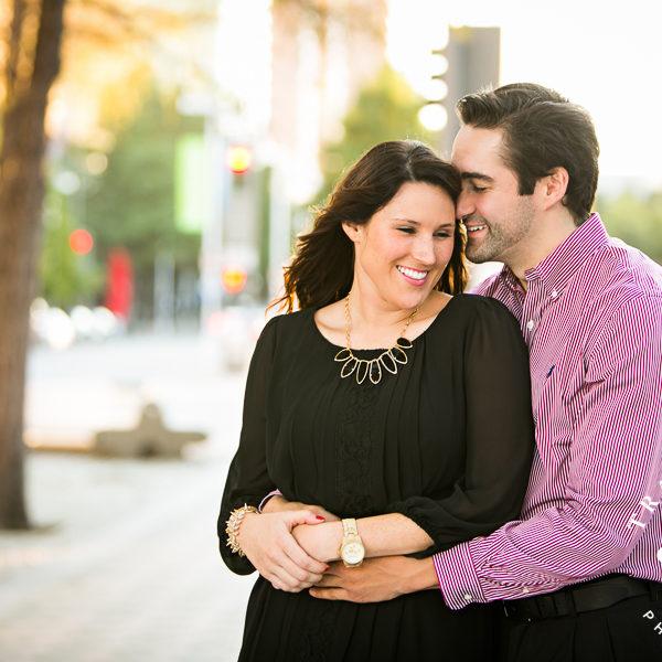 Lindsey & Christian - Dallas Engagement Photos