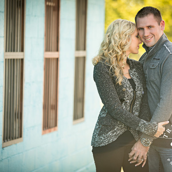 Taylor & Keaton - Engagement Photos in Fort Worth at Urban Walls & Trinity Park