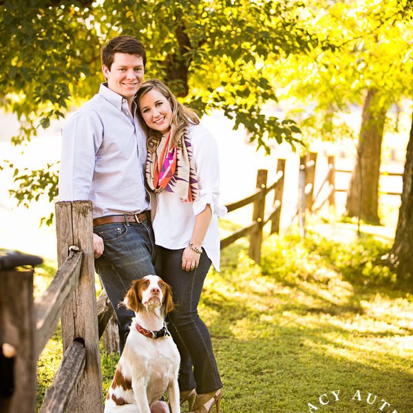 Christal & Scott - Fort Worth Engagement Portraits at Trinity Park & Van Zandt Cottage