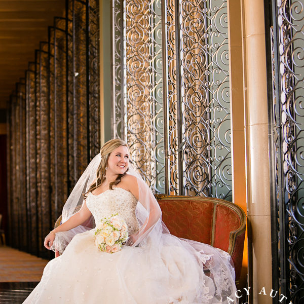 Christal - Bridal Portrait at Fort Worth Club