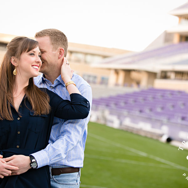 Amy & Tom - 5 Year Anniversary Photos at TCU Campus
