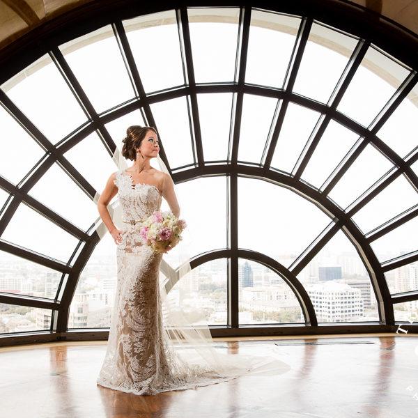 Abby - Bridal Portraits at The Crescent Hotel, Dallas