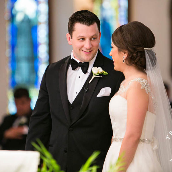 Cristina & Eric - Wedding at St Patricks Cathedral in Fort Worth