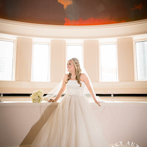 Angela - Bridal Portraits at Bass Hall