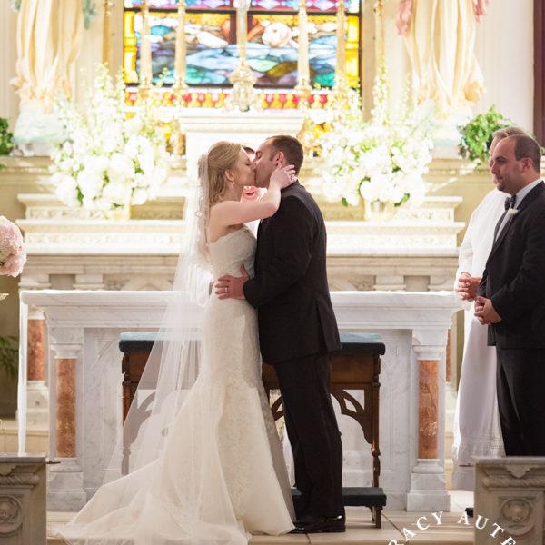 Kate & Josh - Wedding Ceremony at St Patricks Cathedral