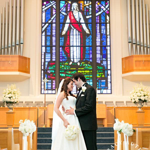 Lindsey & Christian - Wedding at FUMC Hurst & Bridals at Thistle Hill