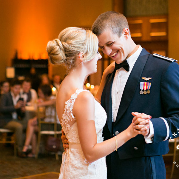 Megan & Casey Wedding Reception at The Omni Fort Worth