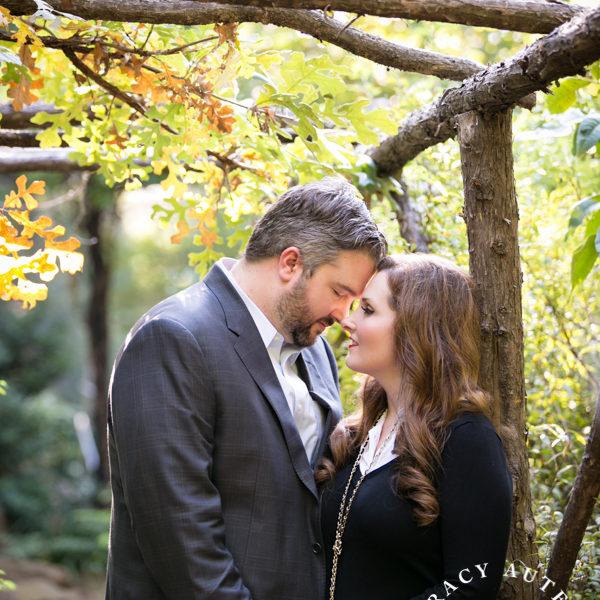 Becca & Drew - Engagement Portraits at Chandor Gardens