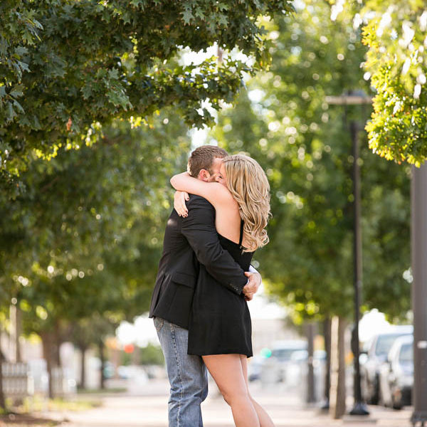Lara and Derek - Fort Worth Engagement Portraits