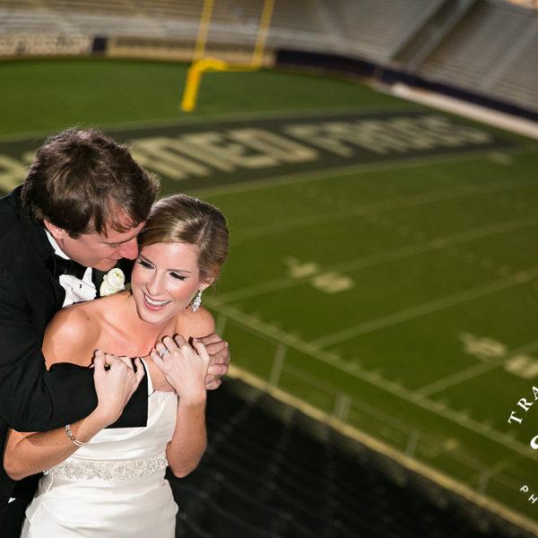 Kelly & Gerry - Wedding Reception at Amon G Carter Stadium at TCU - Champions Club