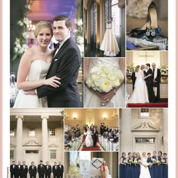 Published - Ali & Brent at Fort Worth Club in Brides of North Texas Magazine