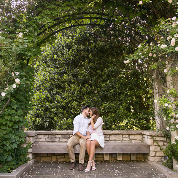 Marysa and James - Engagement Portraits at Botanic Gardens & Sundance Square, Fort Worth