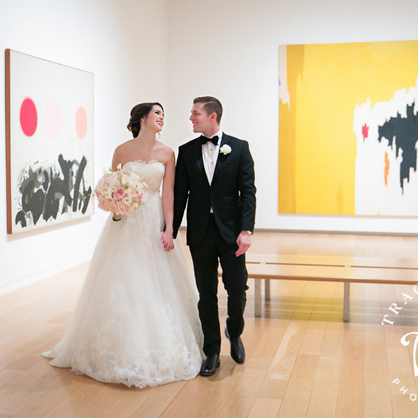 Chelsea & Spencer - Wedding Reception at the Fort Worth Modern Art Museum
