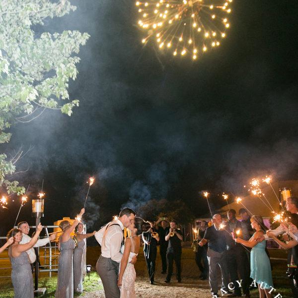Bree & Craig - Private Dallas Ranch Wedding Reception
