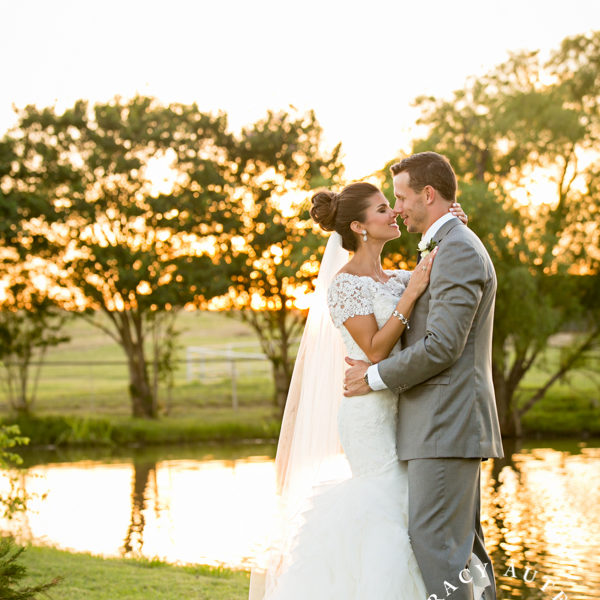 Bree & Craig - First Look and Romantic Portraits at Dallas Private Ranch
