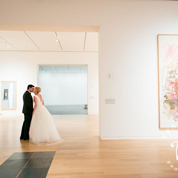 Madison & Holt - Wedding Portraits at Robert Carr Chapel & The Modern Art Museum