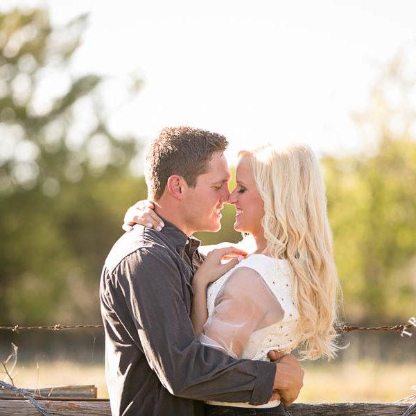 Allie and Kane - Engagement Photos at Mitas Vineyard in McKinney
