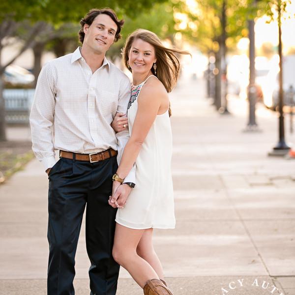 Sarah & David - Engagement Portraits in Fort Worth