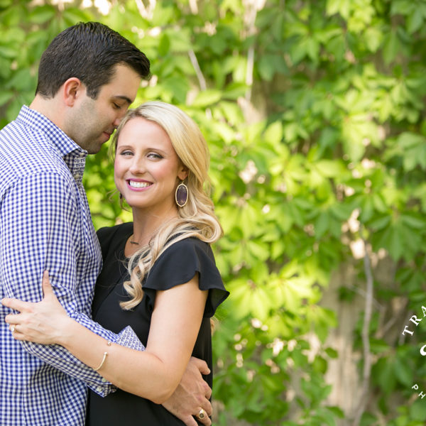 Laura & David - Engagement at Texas Christian University Campus & Stockyards