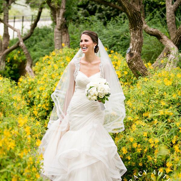 Katie - Bridal Portraits at Dallas Arboretum