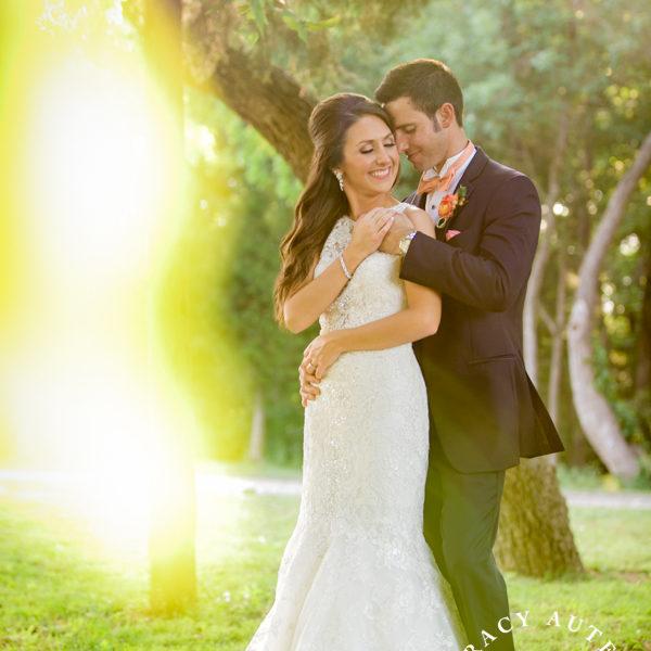 Jillian & Brady - Wedding Portraits in the Vineyard at Mitas Hill