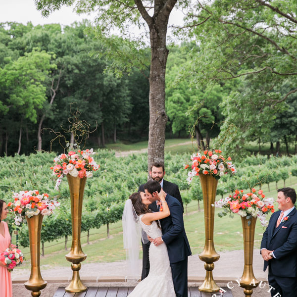 Jillian & Brady - Wedding Ceremony at Mitas Hill Vineyard
