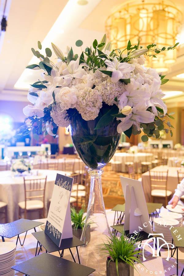 Jason Katie Wedding Details Dress Hydrangeas White Flowers Ideas Invitations Omni Hotel St. Patricks Cathedral Catholic Ceremony Fort Worth Downtown Tracy Autem Photography-0023