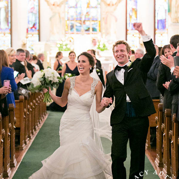 Katie & Jason - Wedding Ceremony at St. Patricks Cathedral